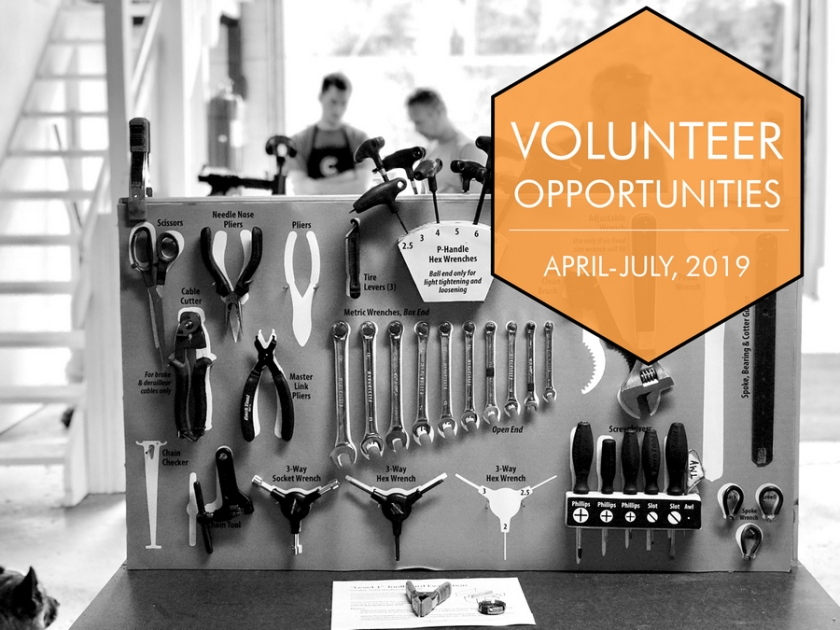 Volunteer Opportunities Graphic